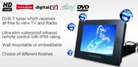 all'ingrosso televisions-22 pollici Televisione Super Hotel TV Bagno LCD acquazzone impermeabile HDTV digitale, DVB-T FreeView ATSC HDMI USB 2.0, 3 colori, trasporto di goccia