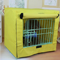 Wholesale 2014 New Dog Crate Cat and Dog Folding Cage Cover Not Include Cage