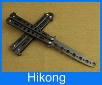 Cheap Folding butterfly knife sawtooth flail knife Practice knife