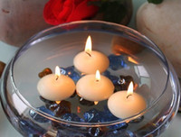 Wholesale NEW mixed colors Floating Candles Tea Lights Nightlights For wedding Parties