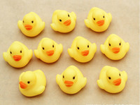 Cheap Wholesale - Free Shipping Baby Kids Bath Water Toy Rubber Yellow Ducks Children Swiming Gifts