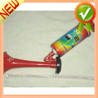 cheer gifts - 2014 World Cup Souvenir Gifts Cheering Props Manual Plastic Fan Horn Dropshipping
