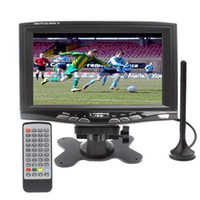 Wholesale 7 inch Portable DVB T LCD TV Digital TV with DVB T Support USB flash disk