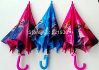Wholesale Hot sale Frozen Umbrella Frozen Princess Elsa amp Anna Children Umbrella cm Frozen Series NEW Arrival