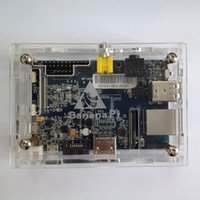 Cheap High quality Acrylic Banana pi case Heat dissipation is very best
