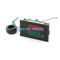 Wholesale Hot Sell Digital AC Dual Display V A Volt Amp LED Panel Meter W Current Transformer TK1156