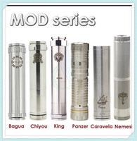 Cheap Chiyou King Panzer Caravela Nemesis full Mechanical mods fit E Cigarette 18650 battery clone vs hawk Stingray maraxus AR hades mods
