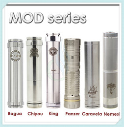 Wholesale Chiyou King Panzer Caravela Nemesis full Mechanical mods fit E Cigarette battery clone vs hawk Stingray maraxus AR hades mods