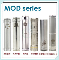 nemesis mod - Bagua Chiyou King Panzer Caravela Nemesis full Mechanical mods fit E Cigarettes battery clone vs hawk Stingray maraxus AR hades mods