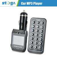 Wholesale 1 quot LED Car MP3 Player FM Transmitter w Remote Controller Black