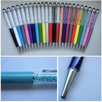 diamond pen - Luxury Diamond Stylus Ball Pen for Mobile Phone iPhone S S4 S5 Tablet PC iPad Tab S in Rhinestone Capacitive Touch Ballpoint Pen