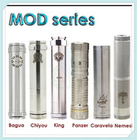 mechanical mod - Bagua Chiyou King Panzer Caravela Nemesis full Mechanical mods fit E Cigarettes battery clone vs hawk Stingray Manhattan AR hades mods