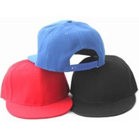 Wholesale 2014 New Blank Snapback Baseball Hat Cap Man Women Plain Flat Bill Visor Ball Sport Hip hop Strapback Hat