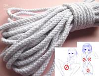 Wholesale Shibari Kinbaku Bondage Cotton Sex Rope Japanese Art SM Game Foot Hand Body Restraint Adult XLY756