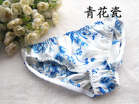Women silk panties - Pairs Women s Silk briefs Flowered Panties Briefs Underwear M L XL XXL