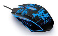 Cheap Best 1pc 2014 New Arrive New 3200DPI 6 Button LED Optical USB Wired Gaming Mouse For PC Laptop Free Shipping