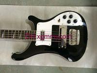 bass guitar - Custom Bass String Bass Electric Bass Guitar Black Custom Bass