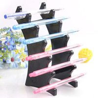 Wholesale Pen Display Stand Plastic Booths Pen Holder ecig Display Stand e Liquid Holder Jewelry Display Stand Pen Storage Rack Shelf