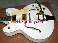 white falcon - Custom White Falcon Electric Guitar Jazz Hollow Guitar withBigbys Top Musical instruments