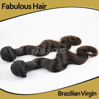 "Brazilian Hair Body Wave Under $100 Fabulous 5A Unprocessed Length 8-30"" 2pcs Lot Brazilian Virgin Hair Body Wave Human Hair Weft Can Be Dyed And Bleached Hair Weaves Extension"