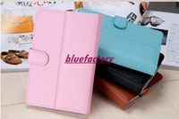 Wholesale 7 inch Flip Stand Case Universal PU Leather Skin Multi Color Cover for inch inch inch inch Android Tablet PC MID PDA