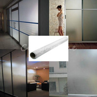 Wholesale PVC Adhesive Static Cling Frosted Privacy Decorative Window Film cm x cm