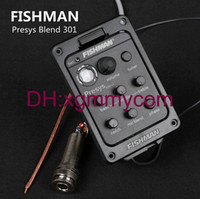 Wholesale Fishman presys blend Dual Mode Guitar Preamp EQ Tuner Piezo Pickup Equalizer System With Mic Beat Board In Stock