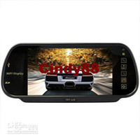 Cheap Inch MP5 USB Player FM Remote Controller Rearview Mirror Car Monitor