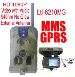La caza cámara de exploración gsm en venta-Ltl Acorn 6210MM 6210MG 12MP HD 1080P MMS móvil GPRS Correo electrónico Scouting Cámara de la caza Camino de exploración del juego Cámara con la extensión de la antena
