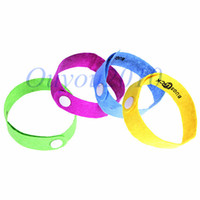 Cheap New Arrival Adjustable Multi-color Anti Mosquito Mozzie Pest Insect Bugs Repellent Wrist Hand Ring Bracelet Free Shipping