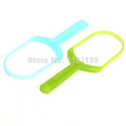 Wholesale 2pcs Baby Adult Plastic Hygiene Mouth Dental Care Tongue Oral Cleaner Scraper
