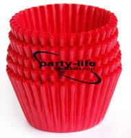 Wholesale 40pcs tart cake chocolate paper cases cupcake Red total Diameter is cm box