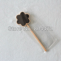 Wholesale NEW Wood Blackboard Flower Plant Herb Vegetable Sign Gardon Plaque Craft
