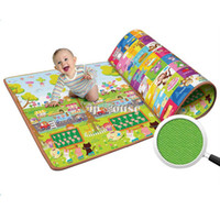 Cheap Hot Sale 200*160CM Children Kids Educational Learning Baby play mat,Crawling Mat,Climb Blanket,Outdoor Game Picnic Carpet 14995