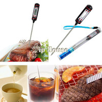 Wholesale Digital Probe BBQ Cooking Thermometer Food Kitchen Dropshipping