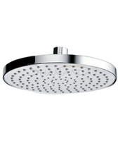 "Cheap Free shipping Bathroom 8"" Rain Overhead Shower Heads ABS Plastic Thicken Chrome Finish-wholesale -21013 [5 years warranty]"