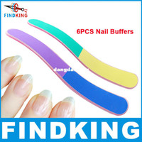 Wholesale Beauty gift nail care sand paper Nail Buffers and nail file and manicure pedicure nail tools