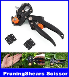 Wholesale New Garden Fruit Tree Pro Pruning Shears Scissor Grafting cutting Tool Blade hight quality