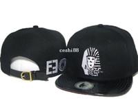 Wholesale Last kings Snapbacks caps black leather star classic men amp women classic baseball hat top quality freeshipping