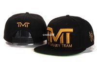 mens hats - TMT The Money Team Snapback caps styles TBE money power respect Snapbacks hiphop mens women designer Hats Freeshipping