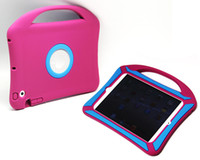 Wholesale Handbag Silicone Rubber Soft Back Case Cover For iPad mini2 retina Protective Shell