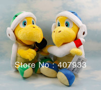 Wholesale cm Super Mario Brothers Plush Toy X Koopa Troopa Hammer amp Boomerang Boomerang plush toy retail
