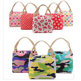 Wholesale 2014 New Fashion Waterproof Zippered Baby Bag Portable Lunchbox Cosmetics Multifunctional Casual Bag Camouflage Color