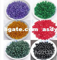 Wholesale asdyWholesale Natural jade bead boutique DIY bulk mm Jade beads a variety of colors