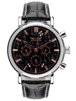 Cheap 2013 Brand New Black Men and Women Suit Business Automaic Mechanical Men's Watch Vintage Wrist Watch for Gift