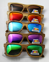 Wholesale 2014 New wood sunglasses handmade sunglasses