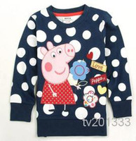 Wholesale asdyWholesale New age season children s wear cotton trade long sleeve T shirt cartoon F4290 embroidery render unlined upper garment of the