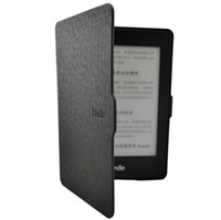Wholesale Classic Black Colors PU Leather Smart Case Cover Ultra Slim For Kindle Paperwhite Durable