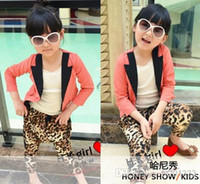 Cheap asdyWholesale - 2014 Toddlers Girl Leopard Pants Fashion Trouser PP Pants Kids'sChildren's Casual Pants Girls Wear
