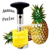 Wholesale Household stainless steel ananas peeler pineapple peeler fruit peeler core pulling peeled to the core